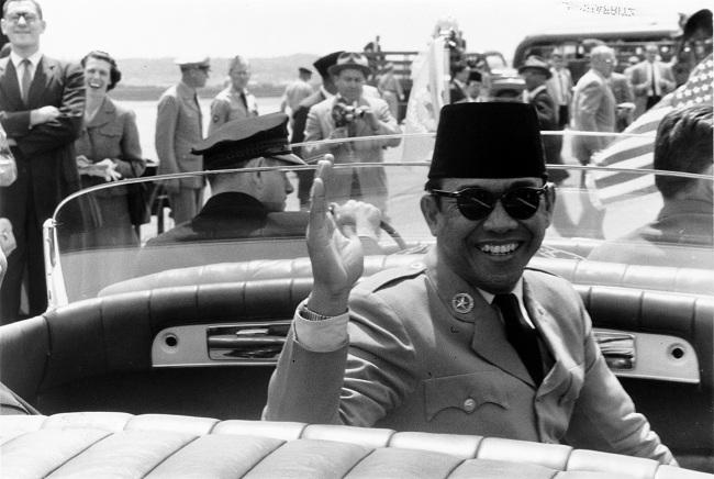 Sukarno di AS (Wikimedia)