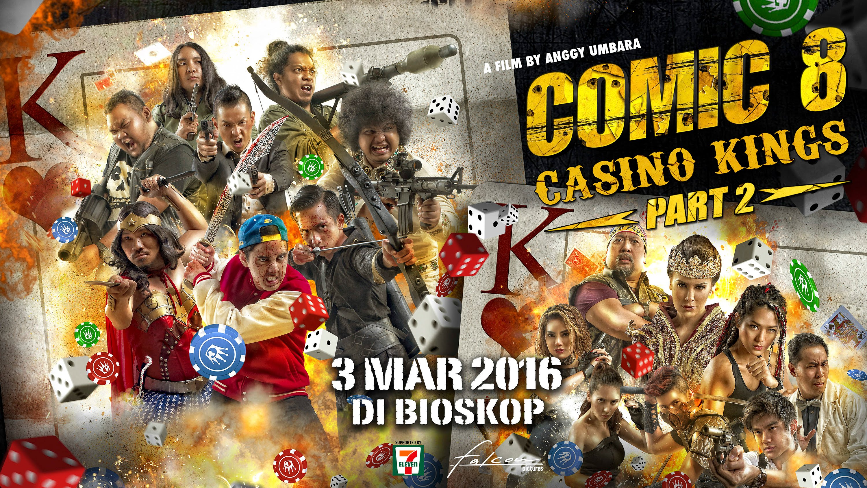REVIEW: Comic 8: Casino Kings Part 2, Pertarungan Agen Rahasia