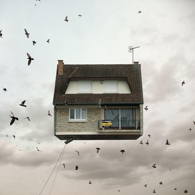 Rumah di Atas Awan yang Bakal Bikin Kamu Menganga