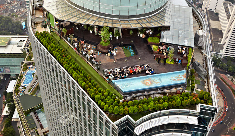 Kulineran Asik Sambil Ngadem di Rooftop yang Ada di Jakarta