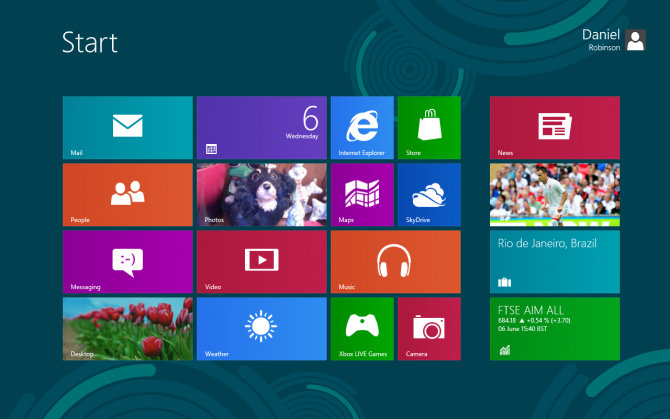 Tampilan Windows 8 (V3)