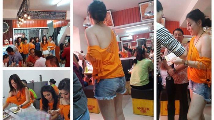 Bakso Djingkrak dengan Para Pelayan Cantik Nan Seksi yang Jadi Berita