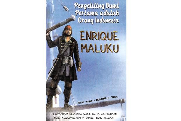 Buku Pengeliling Bumi Pertama adalah Orang Indonesia Enrique Maluku (Sindonews)