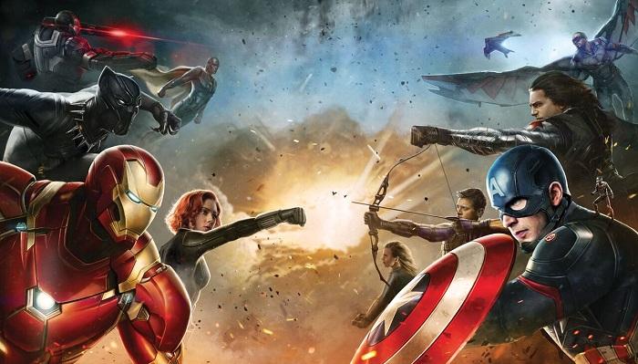 Aksi Spektakuler Para Superhero di Behind the Scene Captain Amrica: Civil War