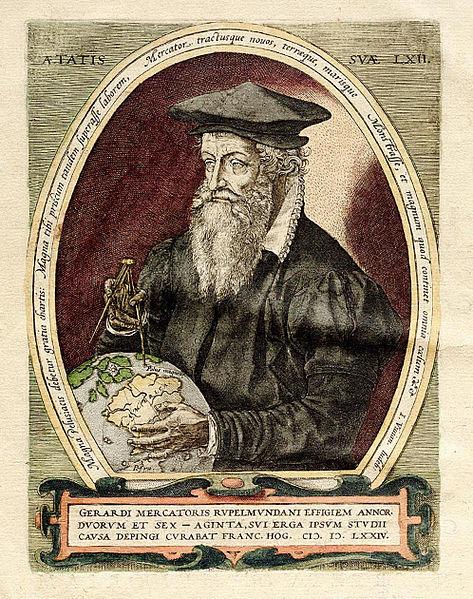 Gerardus Mercator (Wikipedia)