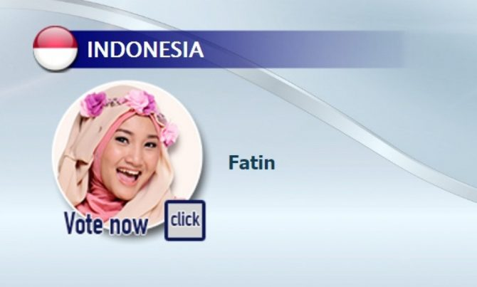 Fatin masuk nominasi (bama-music-awards)