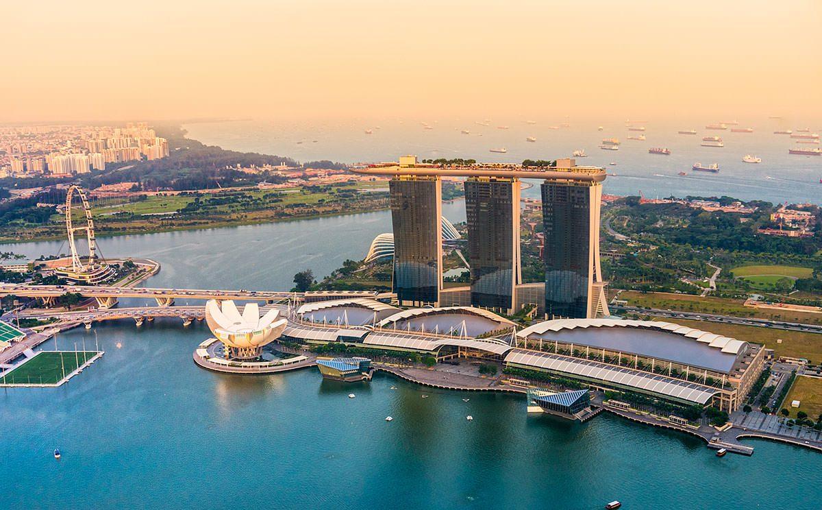 Menelusuri Pemandangan di Marina Bay Singapura