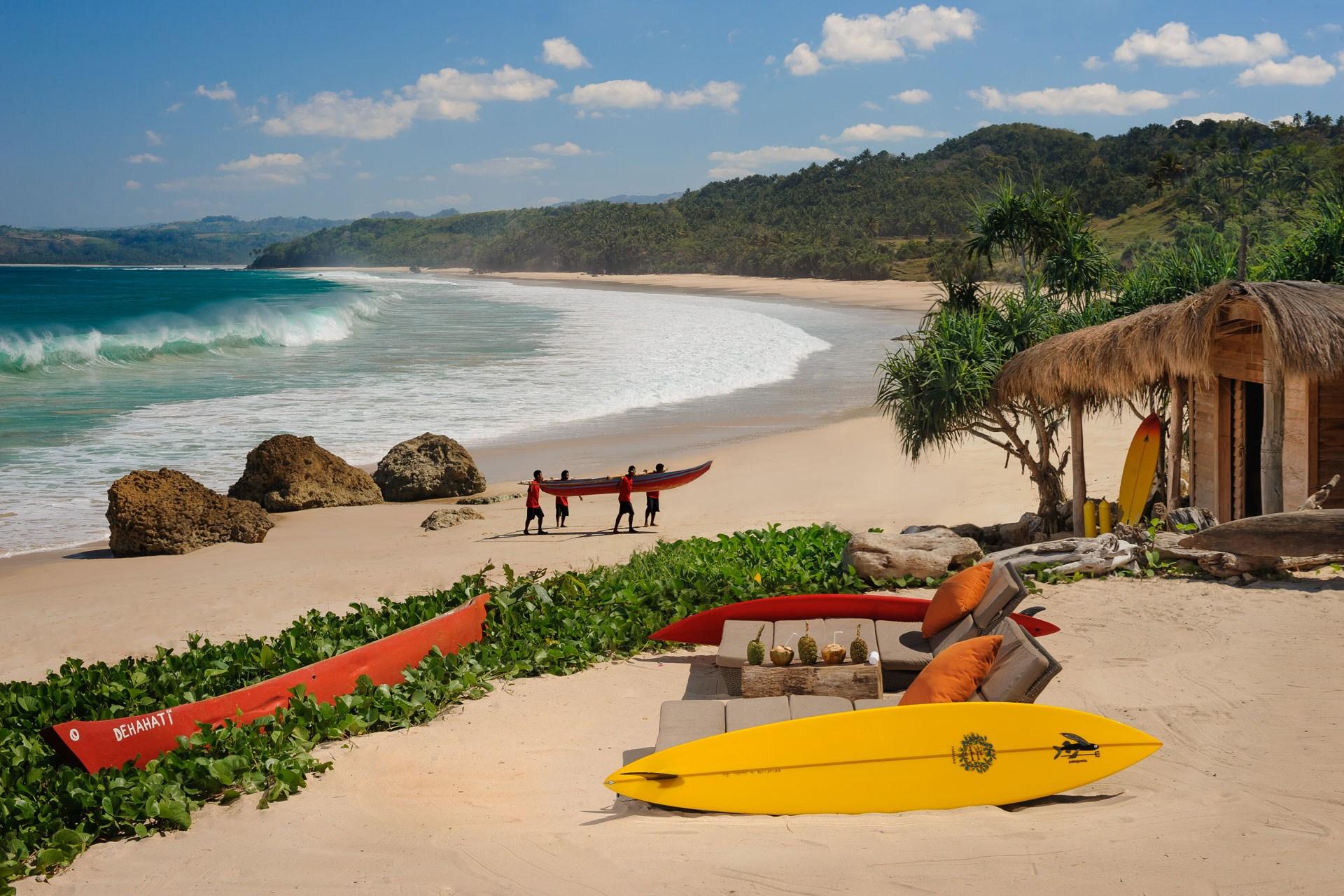 Pantai Nihiwatu, Surga Indonesia yang Paling Sulit Dijamah