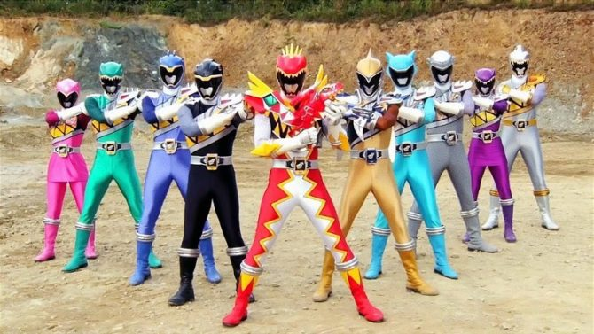 Power Rangers Dino Charge (IGN)