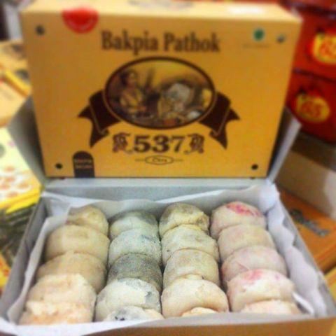 Varian Rasa Bakpia Cokelat, Kacang Hijau, Keju, Strawberry, (brojajan.blogspot.com)