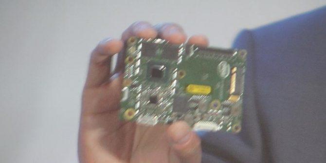 Chipset Intel untuk drone (Kompas)