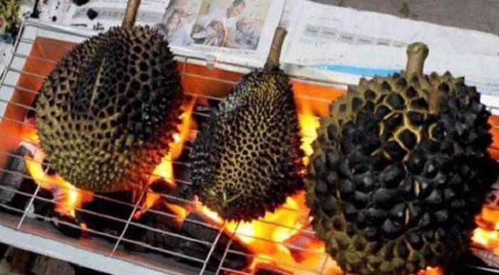 Durian Bakar, Cara Baru Menikmati Buah Asli Indonesia