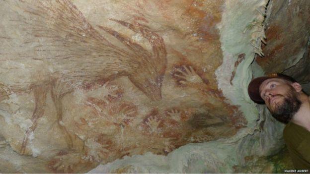 Lukisan gua prasejarah (CNN)