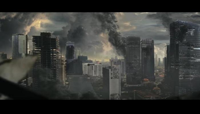 Pertama di Indonesia, Film Ini Tampilkan Jakarta yang Hancur Lebur