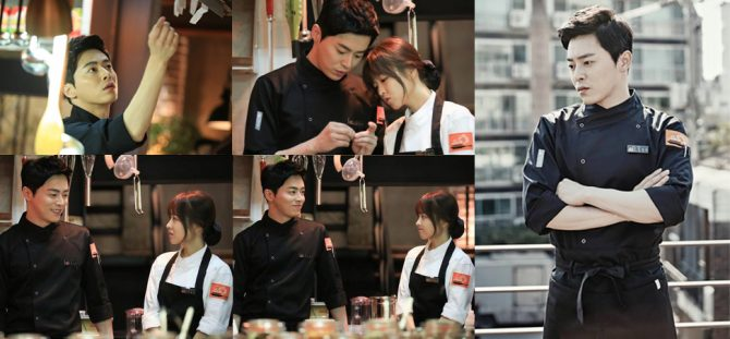 Chef Kang Sun Woo dalam Oh My Ghost (difaulhusna.blogspot.com, iranisyalika.wordpress.com, lingyap.blogspot.com)