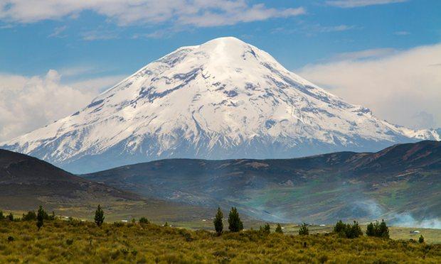 Gunung Chimborazo (The Guardian)