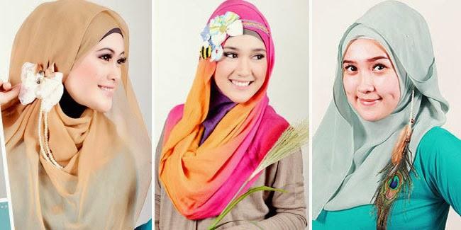 Ilustrasi hijab (Littledevilmaria)