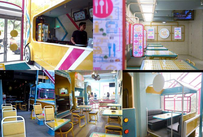 Lantai 1, Basement, dan Lantai 2 di Wraps & Rolls(www.zaenabnuraini.com, anakjajan, pergikuliner.com)