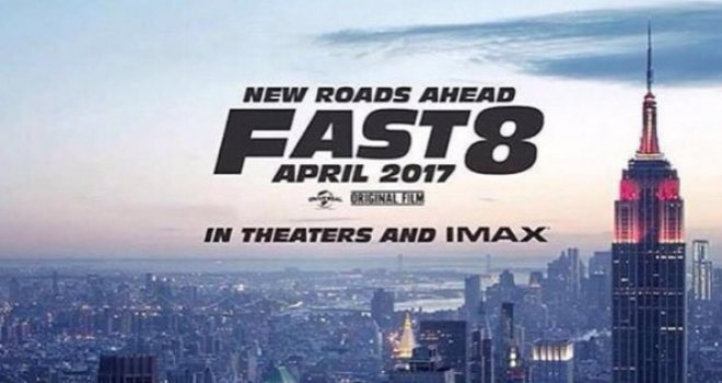 Poster Fast & Furious 8 (Moviefone)