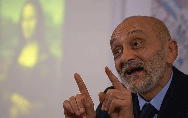 Silvano Vinceti (Telegraph)