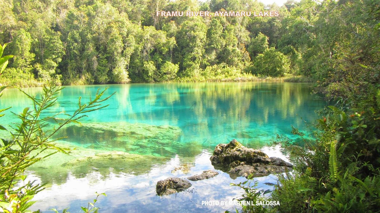 Danau Ayamaru, Keindahan Lain di Tanah Papua, Beningnya Bak Cermin!