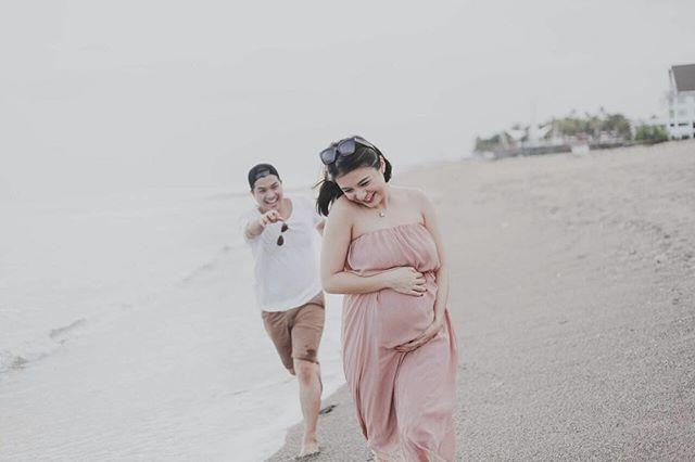 Babymoon Lagi di Bali, Glenn Alinskie dan Chelsea Olivia Bikin Iri