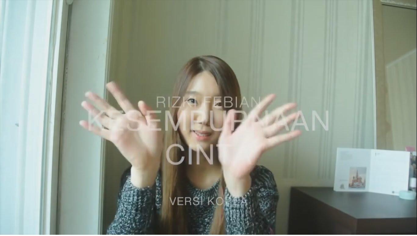 Keren! Kesempurnaan Cinta milik Rizky Febian Dibuat Versi Korea