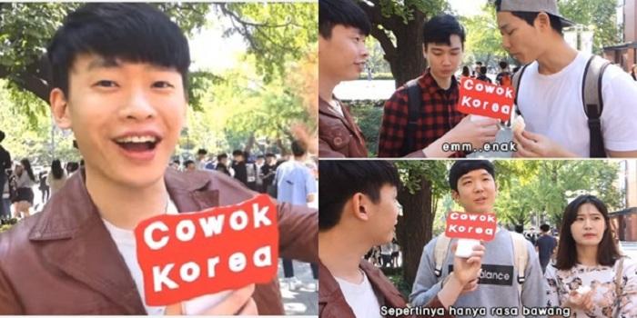 Kocaknya Video Reaksi Orang Korea Makan Kerupuk dan Saus Sambal
