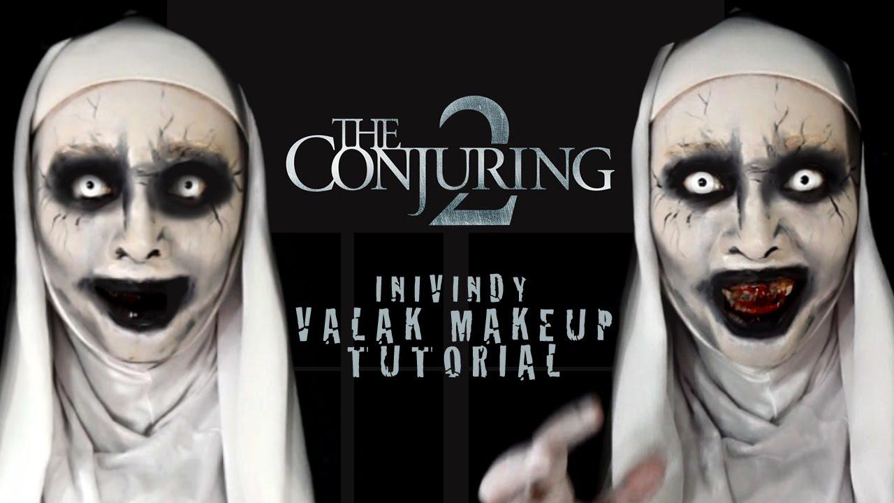 Menjelma Jadi Valak 'The Conjuring 2', Wanita Cantik Asal Malang Ini Jadi Berita
