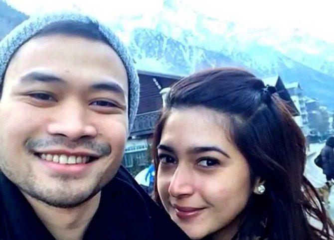 Nabila Syakieb dan Reshwara Argya Ardinal (instagram)