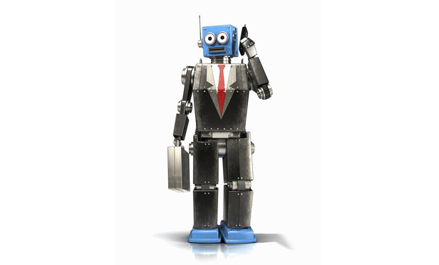 Ilustrasi robot pengacara (Halo-robotics)