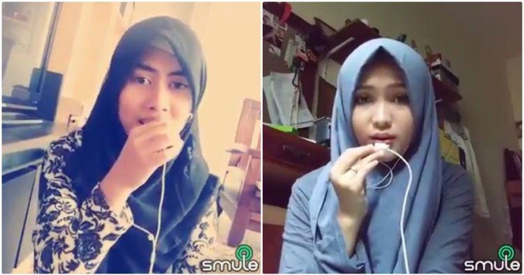 Dua Muslimah Cantik Nyanyi Merdu Via Smule Ini Jadi Berita