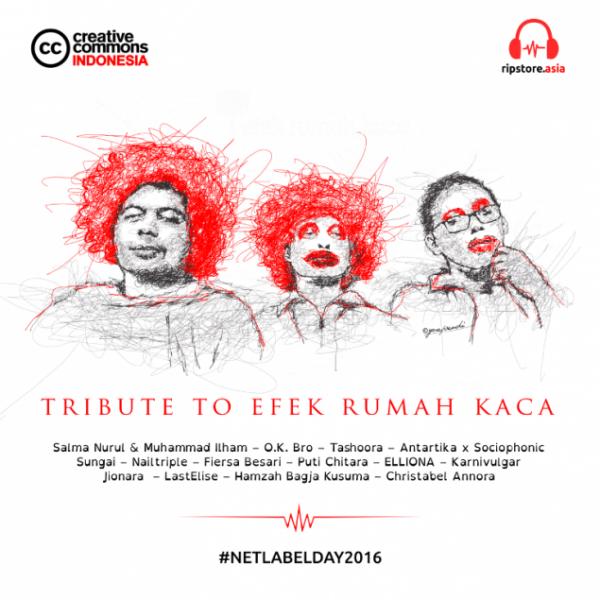 Sampul album Tribute to Efek Rumah Kaca (Ripstore Asia)