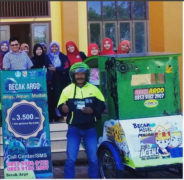 Becak Argo (Acehkita)