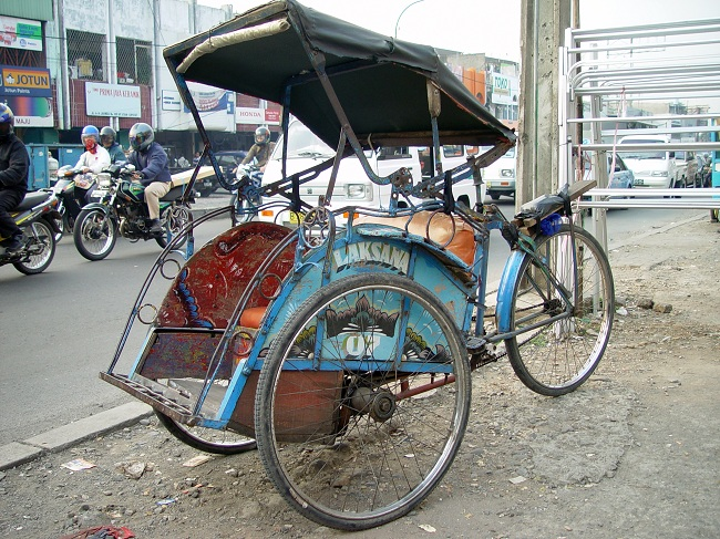 Becak (Wikipedia)