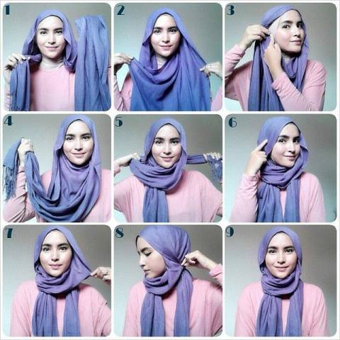 Cute and Simple Hijab (stylearena.net)