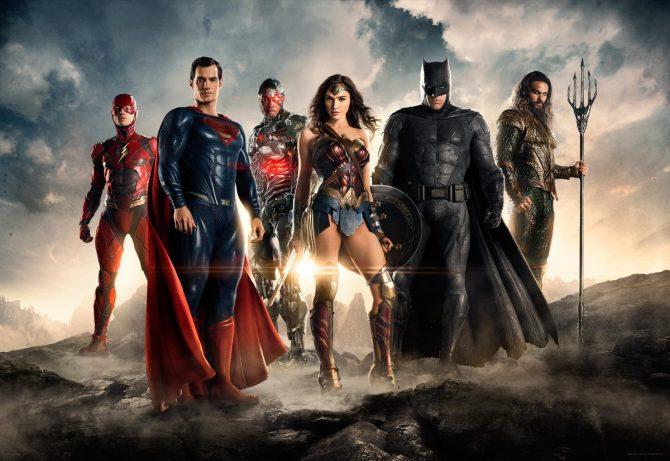 Foto resmi film Justice League (Collider)