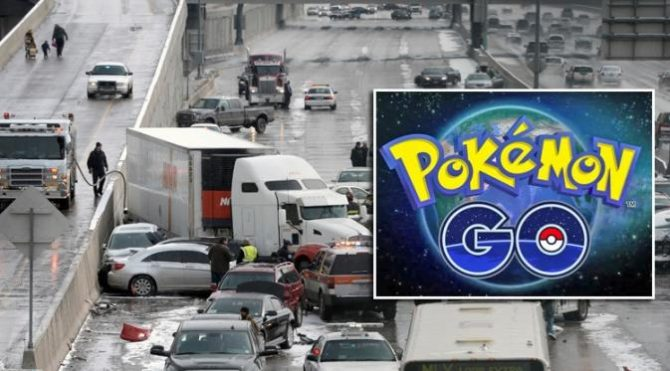 Kecelakaan gara-gara Pokemon Go (Smeaker)