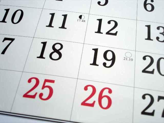 Memilih Waktu Liburan (www.suffolkathletics.org.uk)
