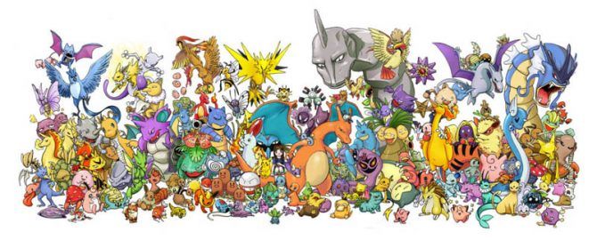 Berbagai jenis Pokemon (Duniaku)