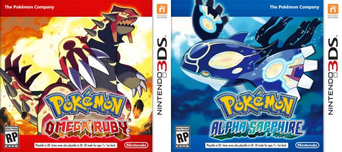 Pokemon OmegaRuby dan AlphaSapphire (Pokemondb)