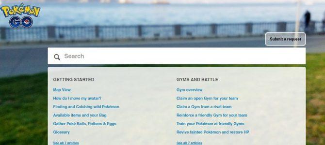 Halaman utama situs Pokemon Go (Pokemon Go)