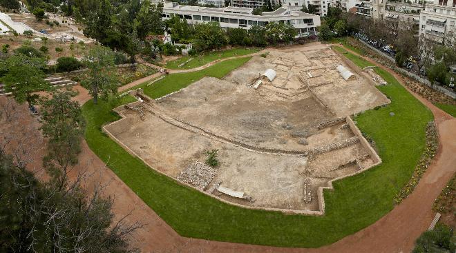 Sisa reruntuhan Lyceum buatan Aristoteles (GTP)