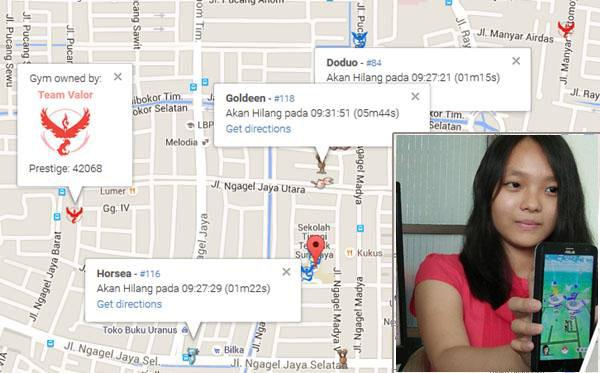 Jenni Irawan dan aplikasi buatannya (Faridhadri)