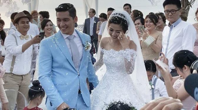 Intip Selfie Unik Franda-Samuel di Hari Pernikahan