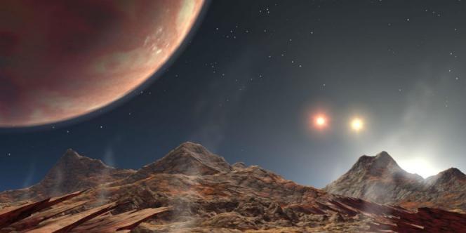 Ilustrasi planet (NASA)