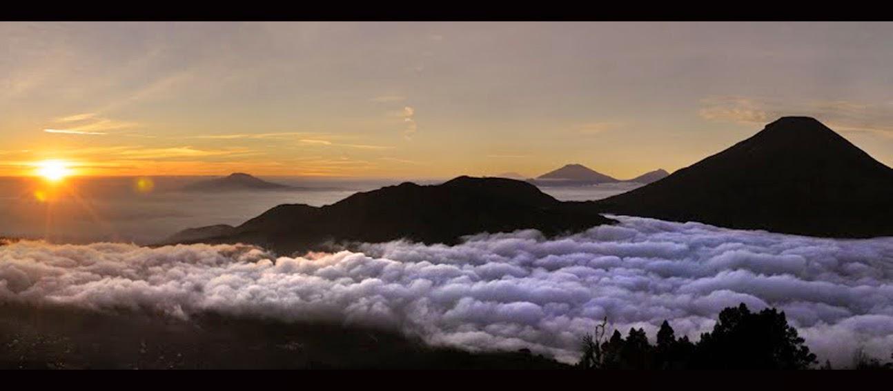 Pesona 5 Negeri di Atas Awan di Bumi Indonesia