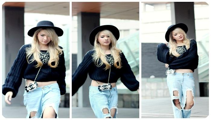 FOTO: Anastasia Siantar, Fashion Blogger Cantik Mirip Artis Korea