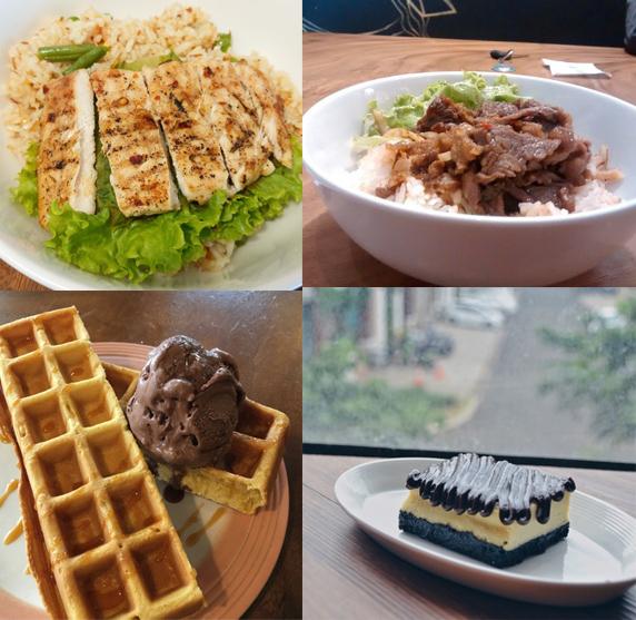 Aneka Menu Makanan dan Dessert di The Bunker Cafe (pergikuliner.com, foody.id)