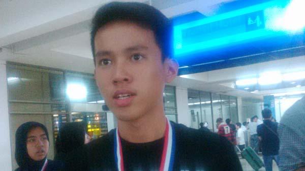Billy, siswa SMA Katolik St. Louis 1 Surabaya (JPNN)